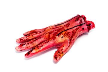 Halloween's amputated hand