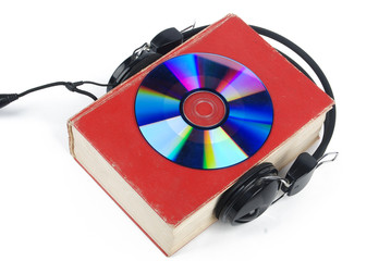 DVD,dictionary and headphone