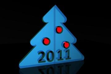 Christmas fur-tree 2011