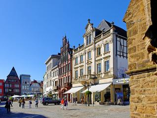 Historischer Marktplatz in Minden an der Weser