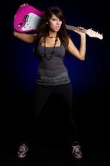 Guitar Rockstar Girl
