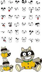 raccoon cartoon hallooween