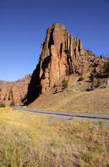 Buffalo Bill state park near Cody Wyoming