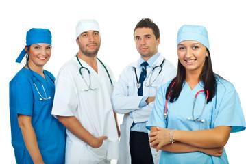 Happy doctors  team