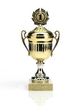 pokalspezialist Fu/ßball Pokal Troph/äe ALES Resinfigur aus Keramik Lackiert Bemalt in 3 Verschiedenen Gr/ö/ßen