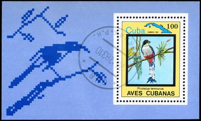 CUBA - CIRCA 1983 Trogon