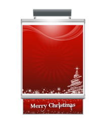 Manifesto Natale Rosso