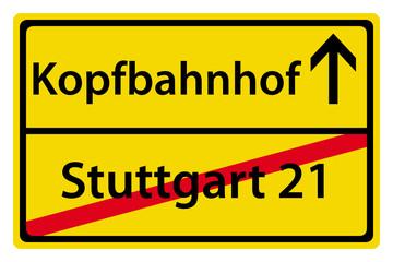 Kopfbahnhof anstatt Stuttgart 21