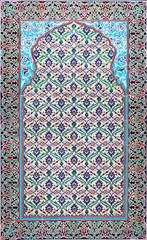 Ancient arabic ceramic tiles