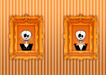 ritratti per halloween