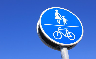 Füssgänger-Radfahrer