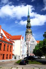 old city in Riga, Latvia