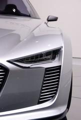 Face avant d'un concept car
