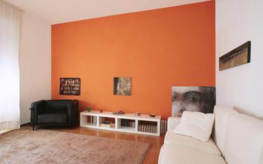 un interno di appartamento moderno