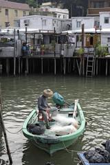 Fischerboot in Tai O auf Lantau