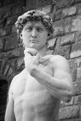 David Statue in Florence Tuscany
