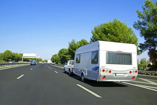 Vacances en caravane