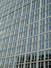 Glasfassade Hochhaus