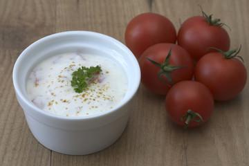 Tomaten Raita