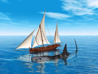 Begegnung auf hoher See