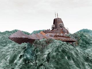 Fantasy Submarine