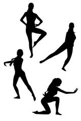 Ballet dancer set 2