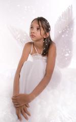 jeune adolescente - ange
