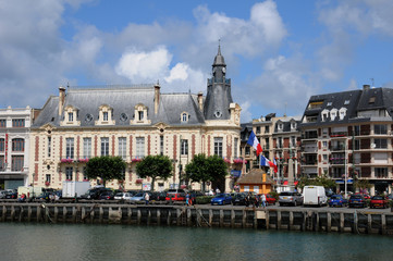 Port de plaisance de Trouville en Normandie