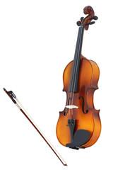 violins and a fiddlestick