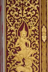 native thai style on church