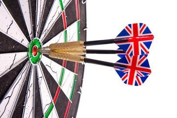 darts in aim