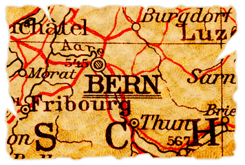 Bern old map