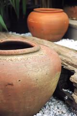 Jar made of clay