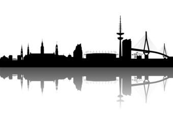 Hamburg Silhouette