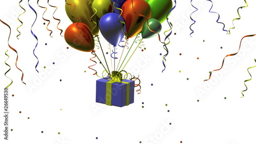 Happy Birthday Animation With Colorful Balloons Stock Footage And Royalty Free Videos On Fotolia
