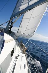 under sail