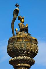 Bronze pillar