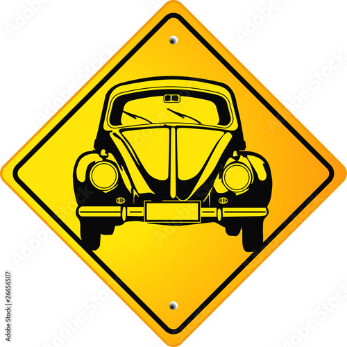 vw beetle schild stock image and royalty free vector. Black Bedroom Furniture Sets. Home Design Ideas
