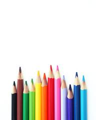 Cloured Pencils row
