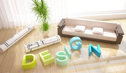 interior design composition