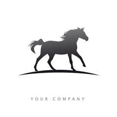 logo entreprise, cheval
