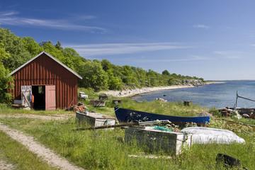fischerhäuschen in schweden