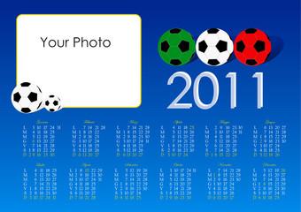 Calendario 2011 calcio
