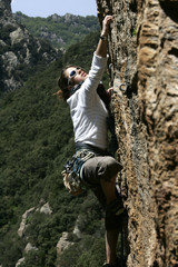 Climbing girl 3