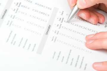 Filling the form