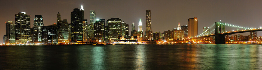 Sight of Manhattan From Brooklyn, New York