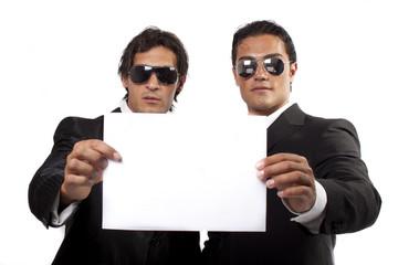 uomini nel business