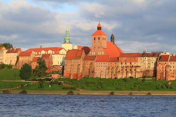 Grudziadz granaries and old town - Poland