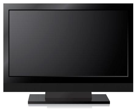 Black LCD, LED, Plasma TV Screen