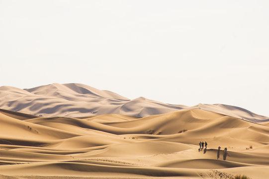 In der Wüste, Marokko, Sahara